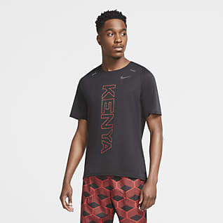 Nike Team Kenya Rise 365 男款跑步上衣