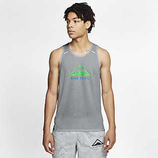 Nike Rise 365 Camiseta de tirantes de trail running para hombre