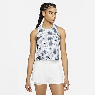NikeCourt Batik-Tennis-Tanktop für Damen