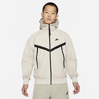 Nike Sportswear Premium Essentials Bélés nélküli kapucnis Windrunner férfikabát