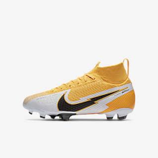 Nike Jr. Mercurial Superfly 7 Elite FG Fotbollssko för gräs för barn