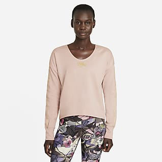 Nike Femme Camiseta de capa media de running - Mujer