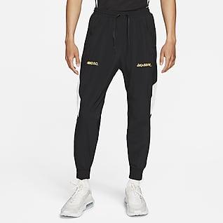 Nike F.C. 男款梭織足球田徑長褲
