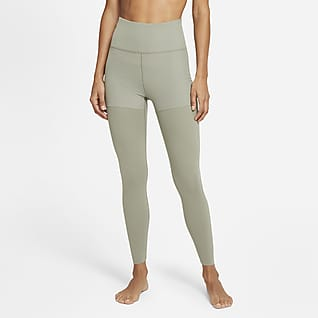 Nike Yoga Luxe Layered Leggings a 7/8 - Donna