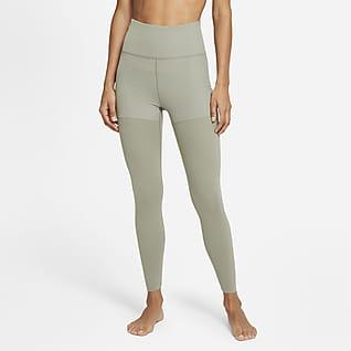 Nike Yoga Luxe Layered 7/8-Leggings für Damen