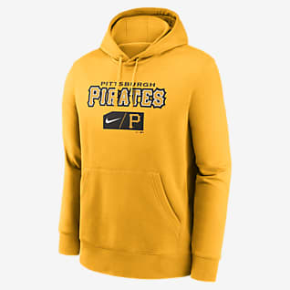 Nike Lettering Club (MLB Pittsburgh Pirates) Men's Pullover Hoodie