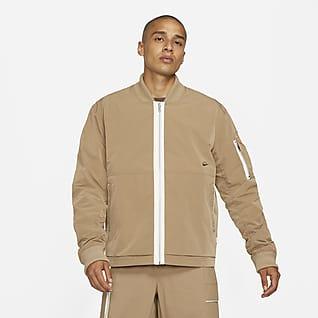 Nike Sportswear Style Essentials Herren-Bomberjacke aus Leder