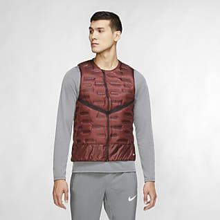Nike Aeroloft Hardloopbodywarmer voor heren