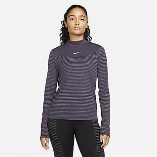 Nike Dri-FIT Run Division Långärmad löpartröja för kvinnor