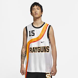 Nike Rayguns เสื้อแข่งบาสเก็ตบอลผู้ชายระดับพรีเมียม
