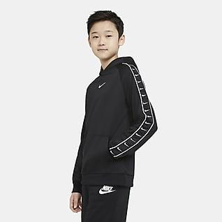 Nike Sportswear Swoosh Mikina s kapucí pro větší děti
