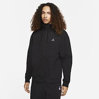 Jordan Essentials Fleece-Hoodie für Herren mit durchgehendem Reißverschluss