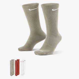 Nike Everyday Plus Lightweight Chaussettes de training mi-mollet pour Homme (3 paires)