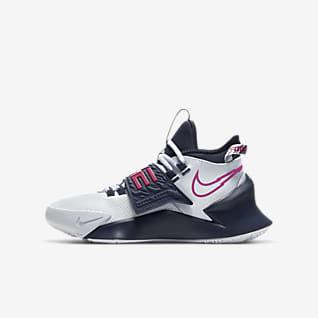 Nike Future Court 3 Calzado de básquetbol para niños talla pequeña/grande