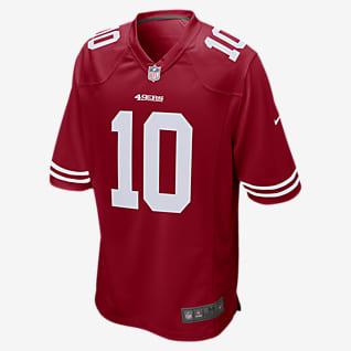 NFL San Francisco 49ers (Jimmy Garoppolo) Ανδρική φανέλα αμερικανικού ποδοσφαίρου