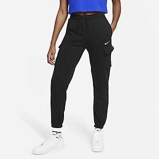 Nike Sportswear Damskie bojówki do tańca z dzianiny