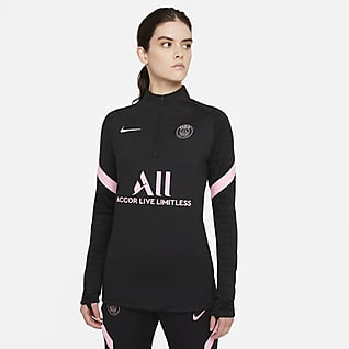 Paris Saint-Germain Strike Away Women's Nike Dri-FIT Football Drill Top