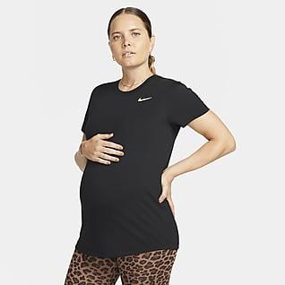Nike Dri-FIT (M) Maternity-T-shirt til kvinder