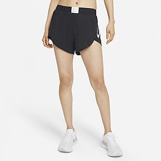 Nike Dri-FIT Retro กางเกงวิ่งขาสั้นมีซับในผู้หญิง