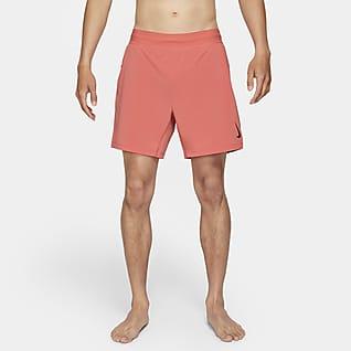 Nike Yoga 男款 2-in-1 短褲