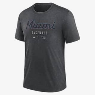 Nike Dri-FIT Early Work (MLB Miami Marlins) Men's T-Shirt