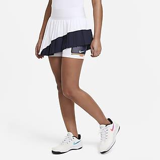 NikeCourt Slam Tenniskjol för kvinnor