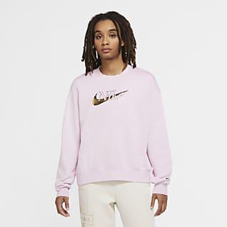 Nike Sportswear Icon Clash Sudadera de tejido Fleece para mujer