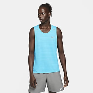 Nike Dri-FIT Miler Camisola de running sem mangas para homem