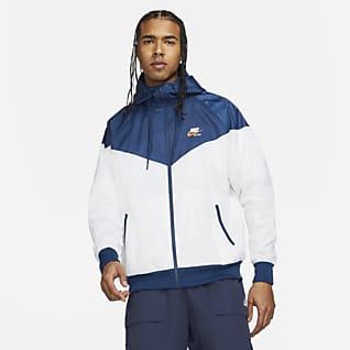 Nike Sportswear Heritage Essentials Windrunner Chamarra con capucha de tejido Woven para hombre