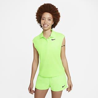 NikeCourt Victory Polo de tenis para mujer