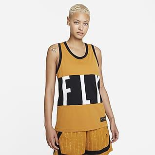 Nike Dri-FIT Swoosh Fly Basketbaljersey voor dames