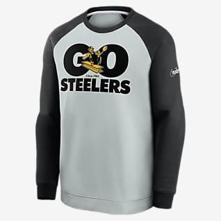 Nike Historic Raglan (NFL Steelers) Men's Sweatshirt