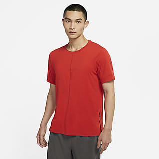 Nike Yoga เสื้อแขนสั้นผู้ชาย