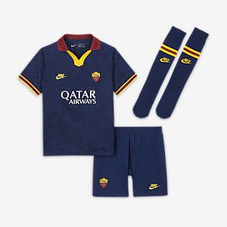 AS Roma 2020/21 Third Younger Kids' Football Kit