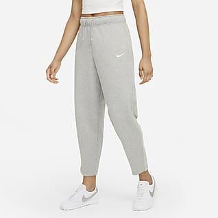 Nike Sportswear Collection Essentials Γυναικείο φλις παντελόνι με στρογγυλεμένη γραμμή