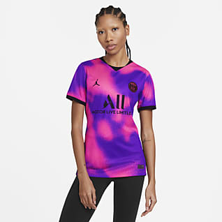 Paris Saint-Germain 2020/21 Stadium Fourth Camiseta de fútbol para mujer