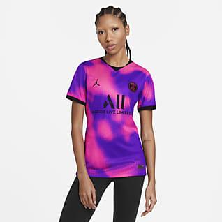 París Saint-Germain 2020/21 Stadium Fourth Camiseta de fútbol - Mujer