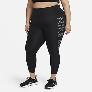 Nike Air Epic Fast Leggings de running de 7/8 (Talla grande) - Mujer