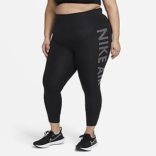Nike Air Epic Fast Löparleggings i 7/8-längd för kvinnor (Plus Size)