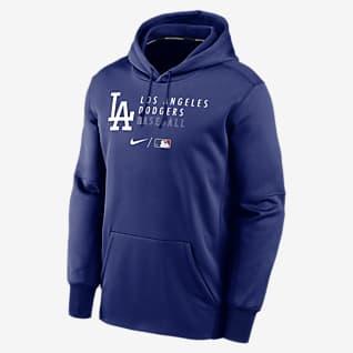 Nike Therma (MLB Los Angeles Dodgers) Men's Pullover Hoodie