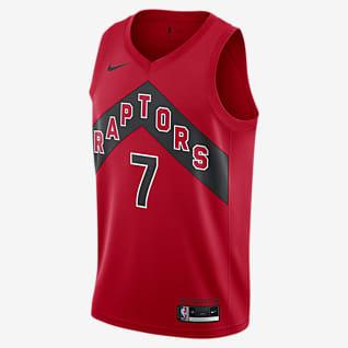 Kyle Lowry Raptors Icon Edition 2020 Nike NBA Swingman-trøje