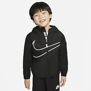 Nike Sportswear Windrunner Peuterjack met rits