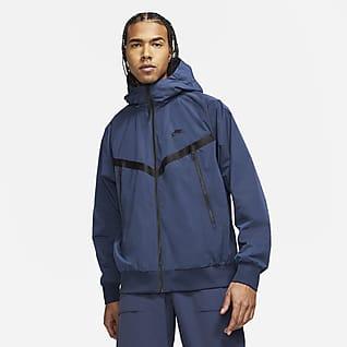Nike Sportswear Premium Essentials Ofodard jacka med huva Windrunner för män