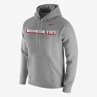 Nike College Club Fleece (Washington State) Men's Hoodie