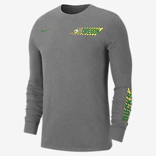 Nike College Dri-FIT (Oregon) Men's Long-Sleeve T-Shirt