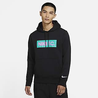 Nike F.C. 男子套头起绒足球连帽衫