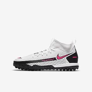 Nike Jr. Phantom GT Academy Dynamic Fit TF Little/Big Kids' Artificial-Turf Soccer Shoes