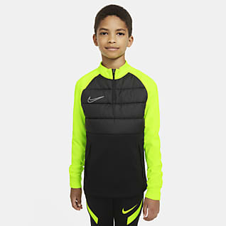 Nike Dri-FIT Academy Winter Warrior Older Kids' Football Drill Top