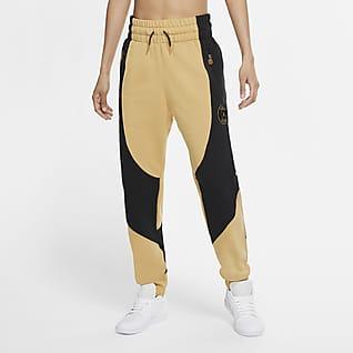 Paris Saint-Germain Pantalones de tejido Fleece para mujer