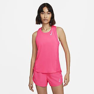 Nike Dri-FIT Race Женская беговая майка